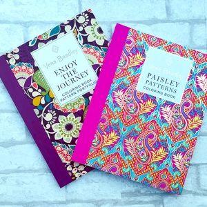 Set of 2 Vera Bradley coloring books